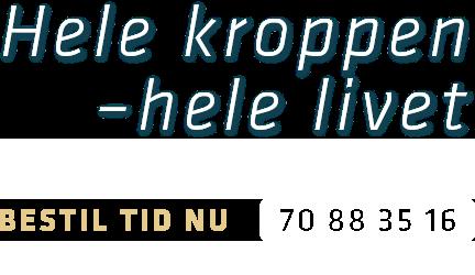 fysioterapeut københavn - Tomas Kofoed Nielsens